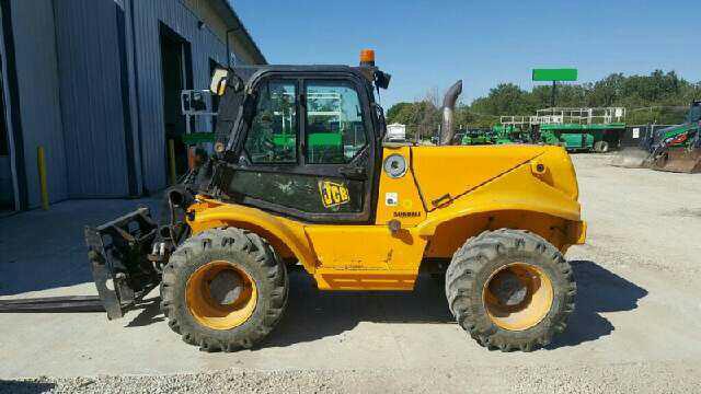 2007 JCB 520-50 Telehandler Forklift w/ Cab & 3148 Hours