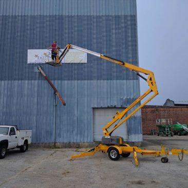 2011 BilJax 4527A Towable Boom Lift w/ 630 Hours – Only $21,950.00!