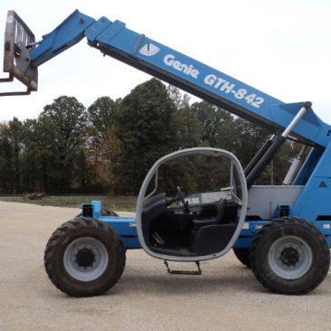 2007 Genie GTH842 Telehandler Forklift w/ 4216 Hours